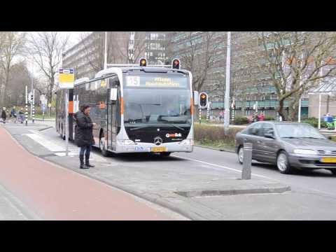 Mercedes-Benz CapaCity Metrobus in service in Groningen, Netherlands