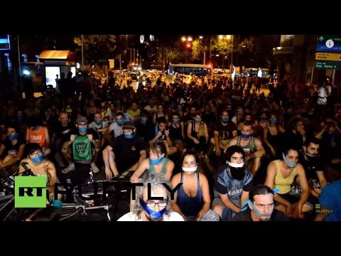 Spain: Madrid protesters defy gag-law as new legislation comes into action