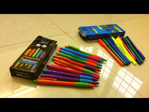 Unboxing And Review Classmate B First And Bfast Ball Pen