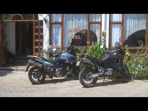 [Slow TV] Motorcycle Ride - Turkey - Kas to Patara and back