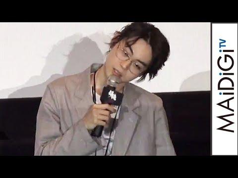 菅田将暉、「ま~きの!」風のものまね披露も「花沢類じゃねえから」 映画「銀魂」大ヒット御礼舞台あいさつ1