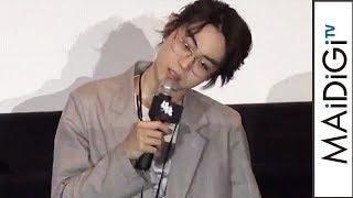 菅田将暉、「ま~きの!」風のものまね披露も「花沢類じゃねえから」 映画「銀魂」大ヒット御礼舞台あいさつ1 thumbnail
