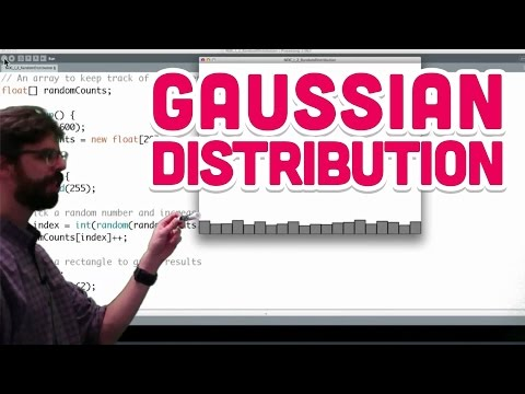 I.3: Gaussian Distribution - The Nature of Code