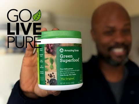 Amazing Grass Green Superfood Powder:  Best Tasting Green Powder?