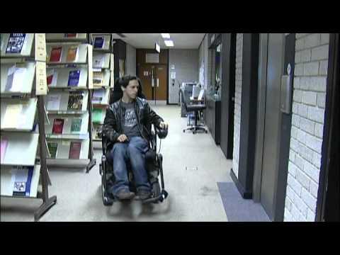 Aberystwyth University Wheelchair Access film