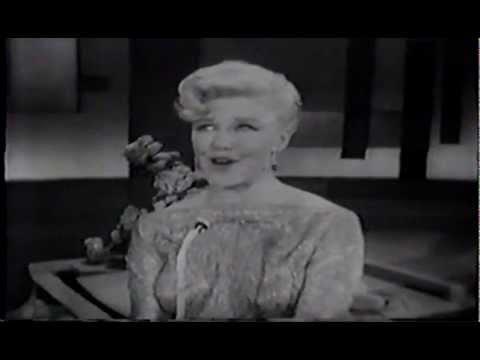 Ginger Rogers - Steve Allen Show (Female singers)
