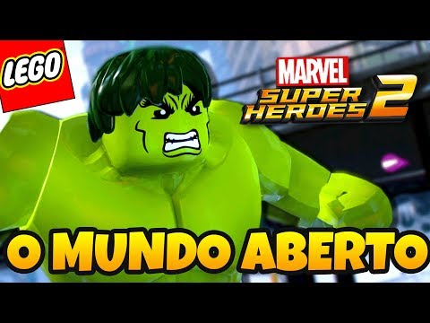 LEGO Marvel Super Heroes 2 PT BR - CONHECENDO O MUNDO ABERTO COM HULK (DUBLADO EM PORTUGUÊS HAGAZO)