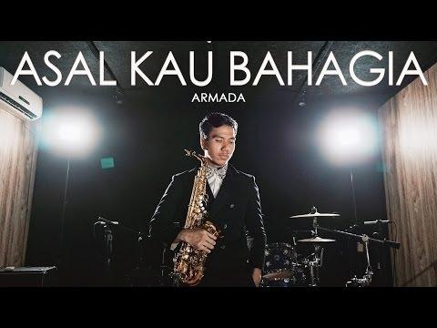 Asal Kau Bahagia ( Armada )  Saxophone Cover by Desmond Amos ft. Qebrelt