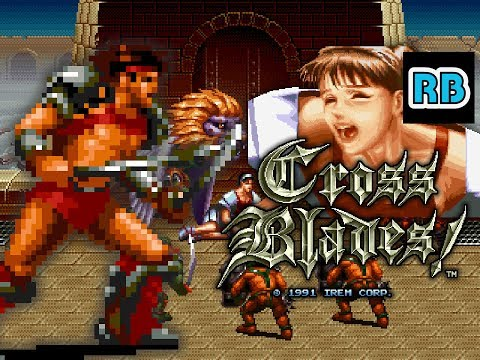1991 [60fps] Cross Blades! Roy Nomiss ALL