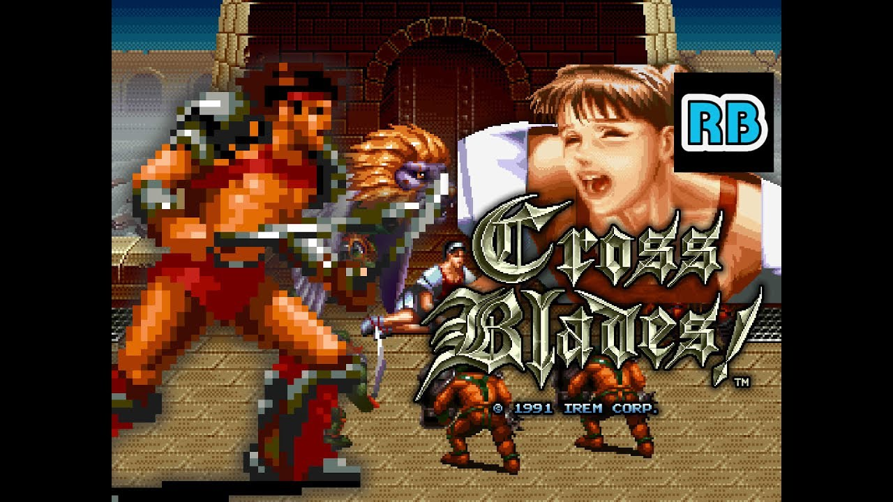 1991 [60fps] Cross Blades! Roy...