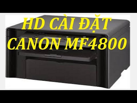 CANON MF4800 DRIVERS FOR WINDOWS 10