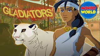 GLADIATORS: THE CONSPIRACY | FULL MOVIE | cartoon for kids | animated movie