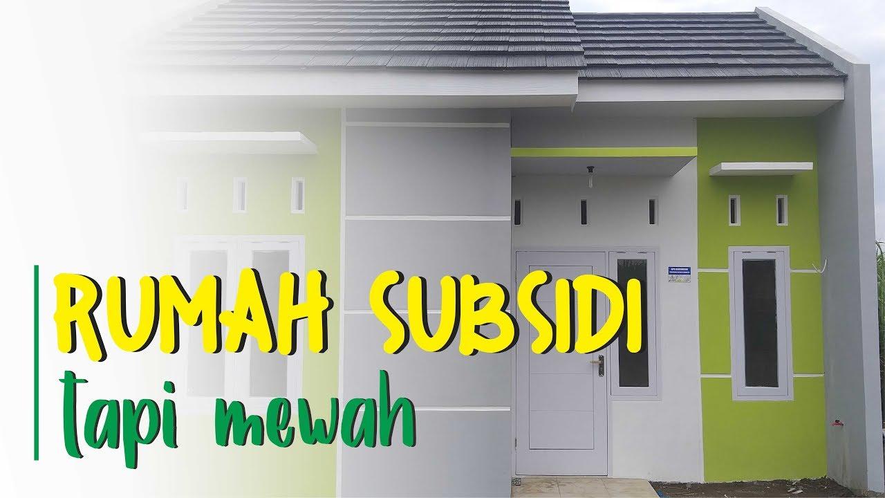 Rumah Kecil Tapi Mewah (Desain Minimalis Rumah Subsidi) - YouTube
