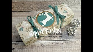 Countdown to Christmas Project No 4 - Chocolate Orange Cracker Style Wrapper