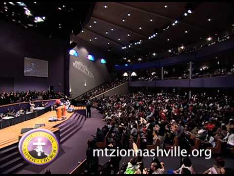 Alexis Spight ministering at Mt. Zion Church Nashville Stellar week 2014