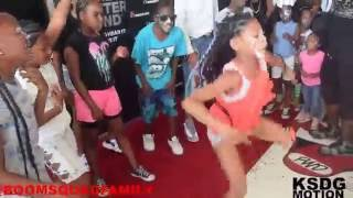 Boom Squad Performing to Puff Daddy and Pharrell Williams Finna Get Loose