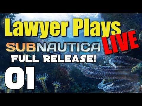 Subnautica LIVE - 01 - Full Release!