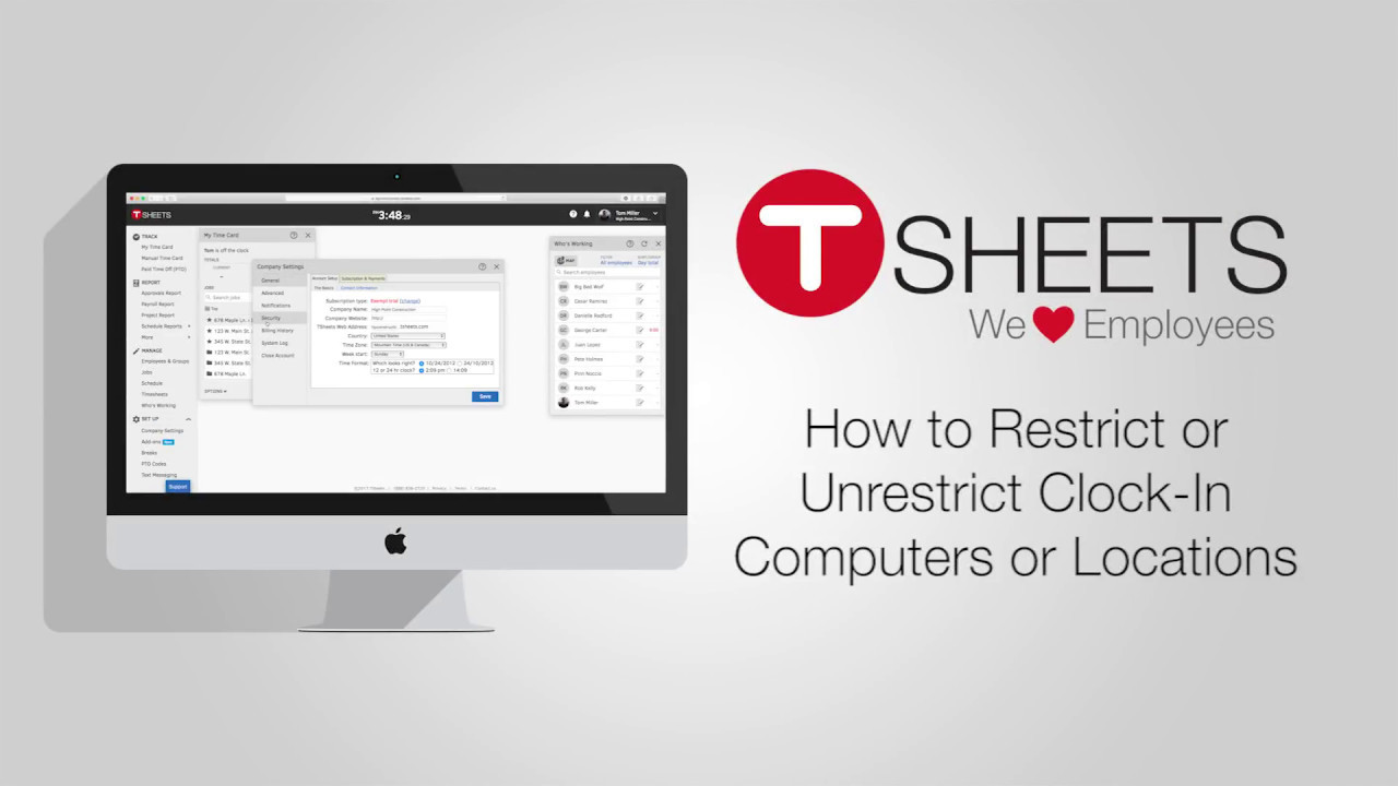 FAQ: How to Restrict or Unrestrict Clock-in Computers or