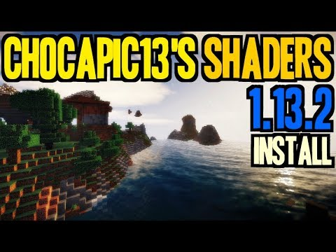 how to download minecraft shader 1.13