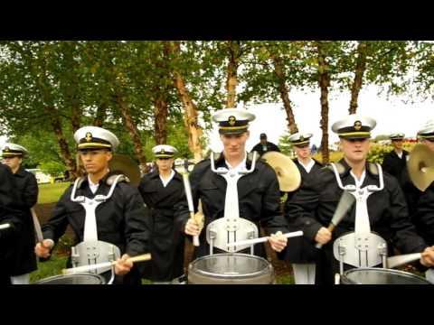Air Force vs Navy Drum Battle 2015