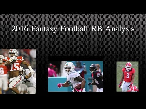 Fantasy Football RB Ratings
