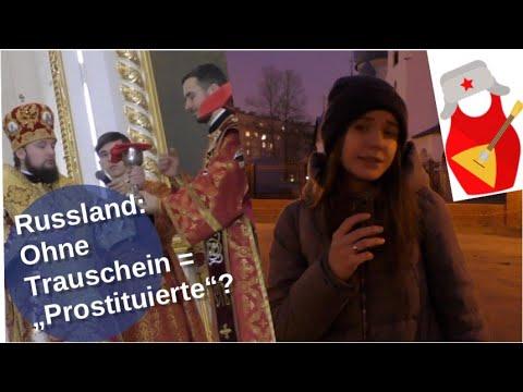 Russland: Ohne Trauschein =