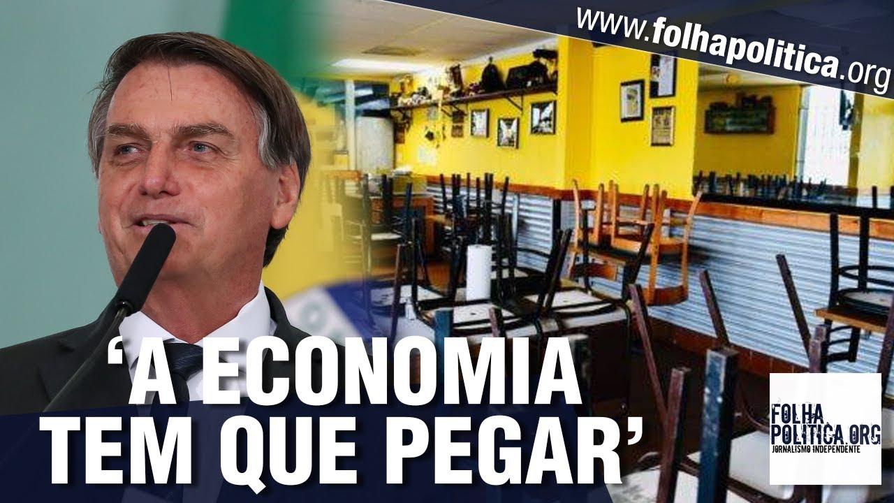 Bolsonaro retruca ataques da mídia, alerta para políticas da esquerda e desabafa diante de...