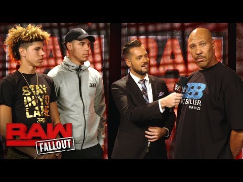 Lonzo Ball and his family soak in the Raw experience: Raw Fallout, June 26, 2017