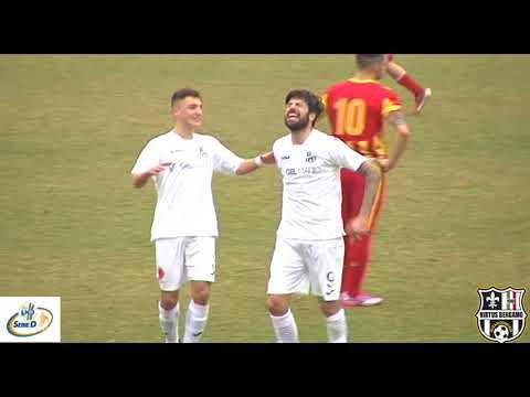 Virtus Bergamo 1909-Grumellese 3-0, 8° giornata di ritorno Girone B Serie D 2017/2018