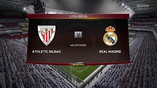 Real Madrid vs Ath. Bilbao 2015 - Fifa 15 PC Gameplay