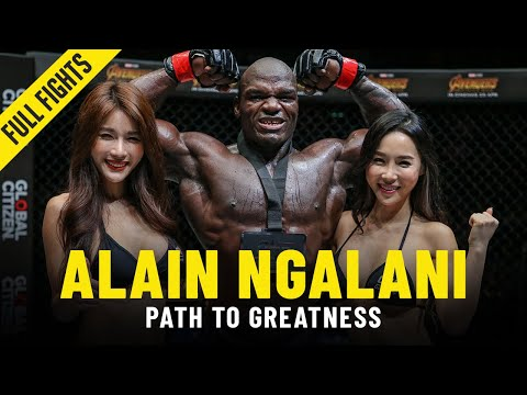 Alain Ngalani's Path To Greatness | ONE Full Fights & Features
