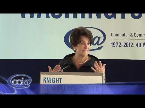 Representative Anna Eshoo CCIA Washington Caucus 2012