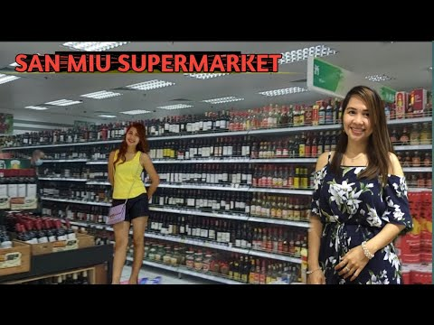 SAN MIU SUPERMARKET SA TAIPA, MACAO, ANG LAKI/MOMMY HAZEL PO