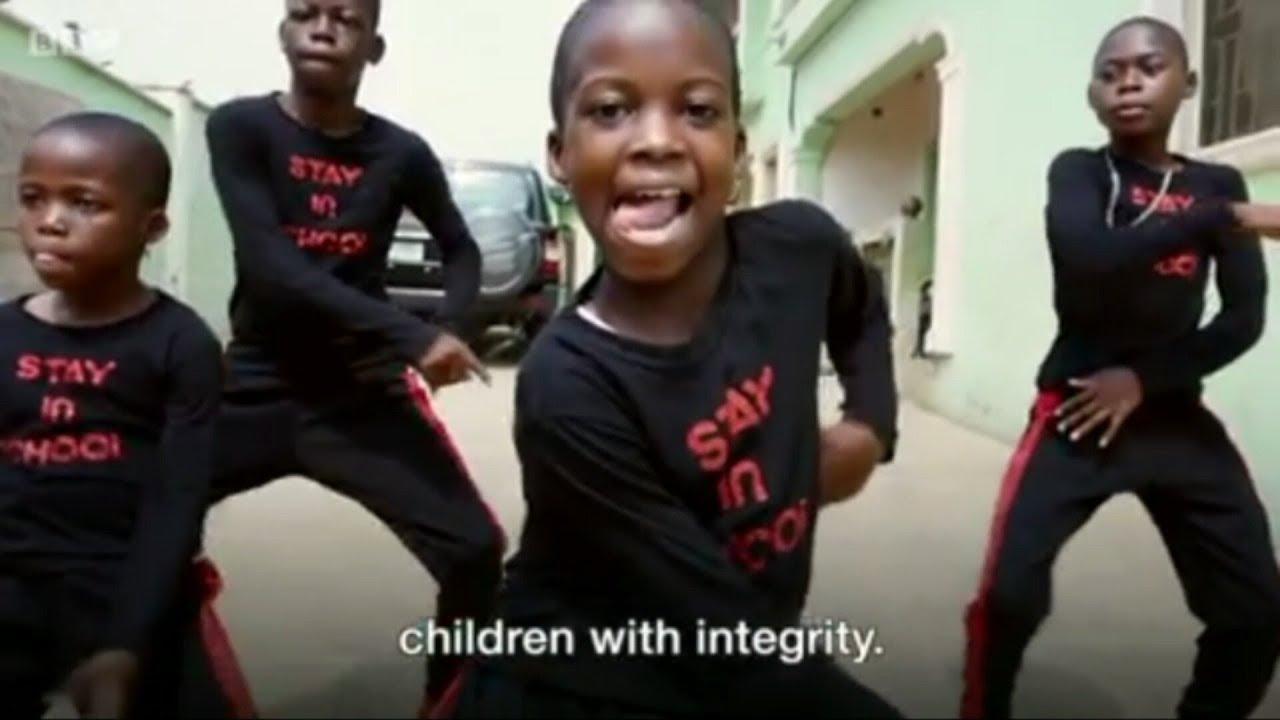 Nigerian children dance viral video
