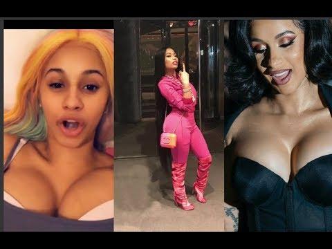#Nicki Minaj Shades #Cardi B after The fight they had on #NYFW #Cardi B Replies Straight