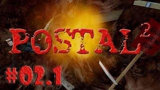 Metalrus - Часть 02.1. Прохождение игры Postal 2. Горячая оргия в библиотеке! [18+]