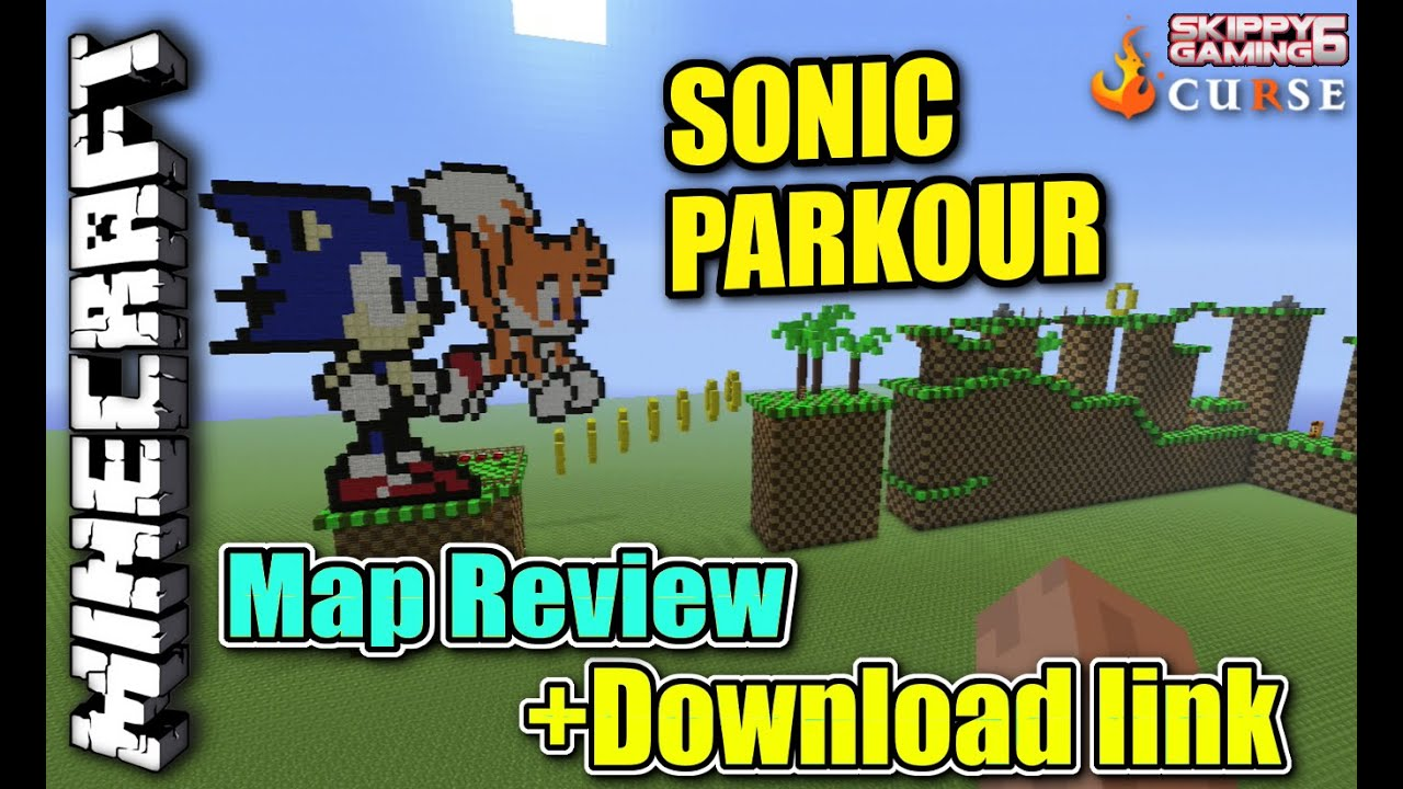Minecraft PS3 - SONIC PARKOUR - Map Review + Download link ( PS4 ...