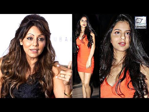 Thumbnail: Shah Rukh's Wife Gauri Khan's REACTION On Suhana's Orange Dress | LehrenTV