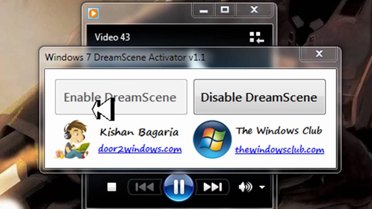 dreamscene windows 7 megaupload