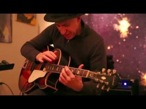 Elliott Sharp - Momentum Anomaly - at Freedom Garden, Brooklyn - Jan 19 2013