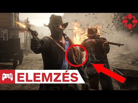 Ez derült ki a Red Dead Redemption 2 játékmenet előzeteséből