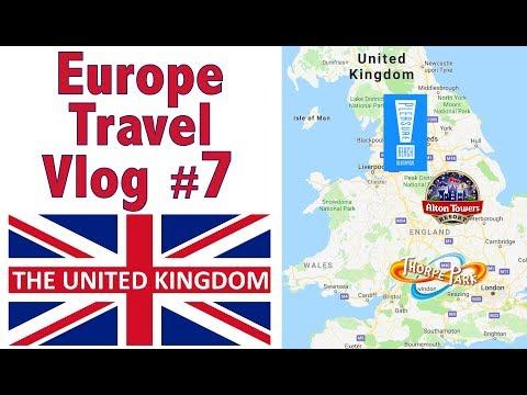 Europe Travel Vlog #7 - The U.K.