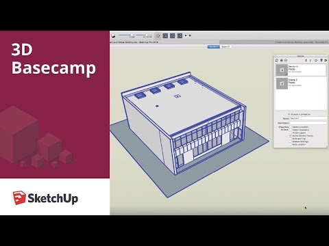 Animation in SketchUp – Matthew Chambers | 3D Basecamp 2018
