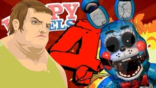 FIVE NIGHTS AT FREDDY'S 4 | CUSTOM HAPPY WHEELS LEVEL!