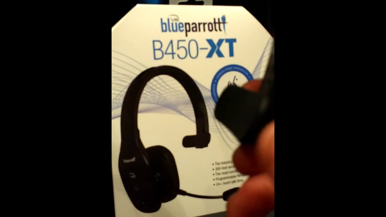 14908581039 Blue Parrott B450 - XT - YouTube