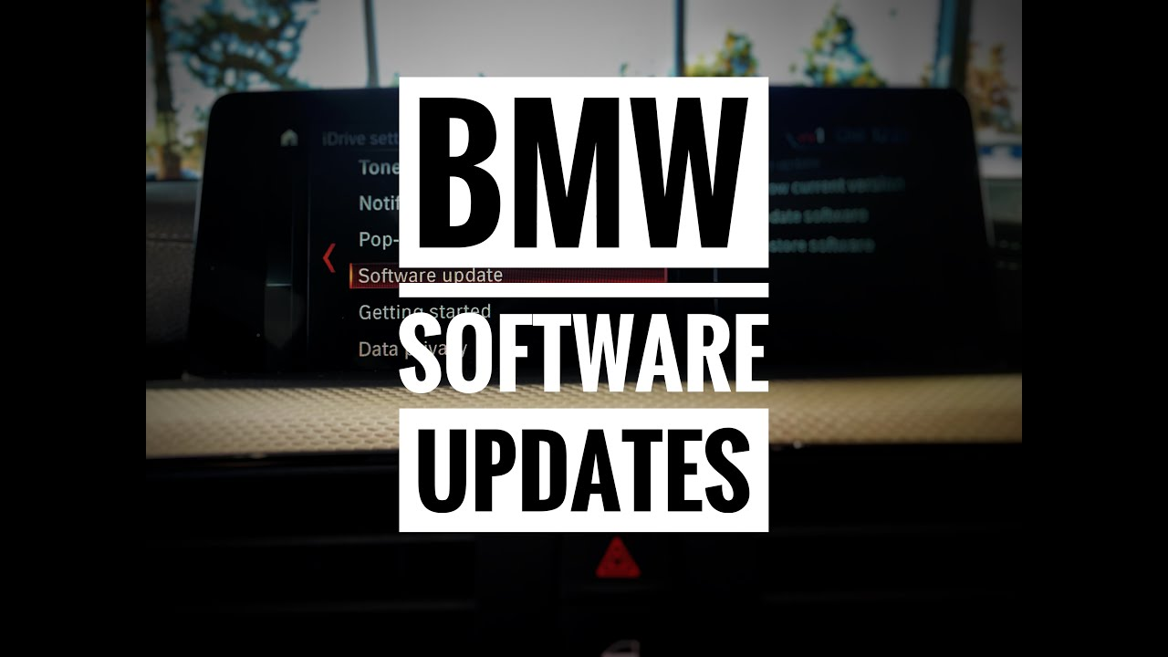 BMW Software Update >> Bmw Software Updates