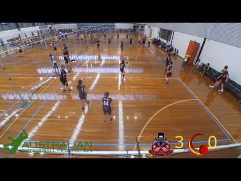 2017 Victorian Dodgeball League Futures Round 1: Greensborough Gangsters vs Cranbourne Comets