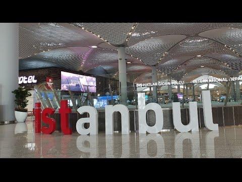 بوابة الوصول لمطار اسطنبول الدولي istanbul new airport وانتبهو لهاي المعلومة قبل السفر !!