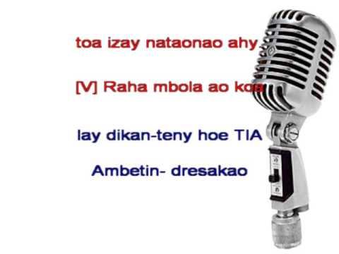 Hay ve ka nisy - Rija Ramanantoanina (Karaoke)