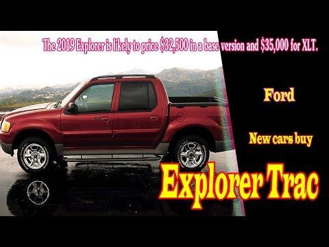 2019 Ford Explorer Trac | 2019 Ford Explorer sport Trac | 2019 Ford Explorer Sport Trac Adrenalin